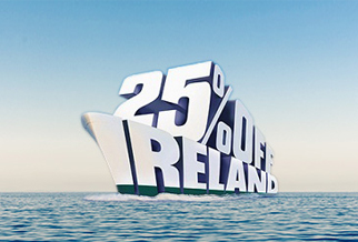 25% off ferries between Britain and Ireland all year