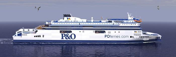 50% OFF a Flexi upgrade to Calais with P&O Ferries